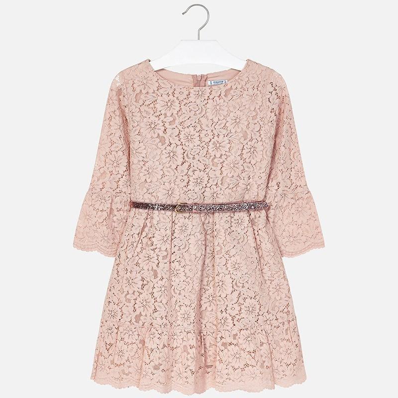9ba64ab81c Mayoral 7930-88 Sukienka dziewczęca kolor różowy