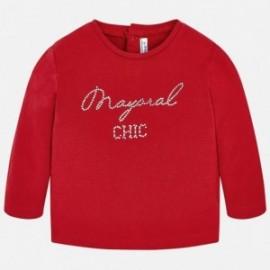 Mayoral 116-42 Koszulka dla dziewczynki kolor czerwony