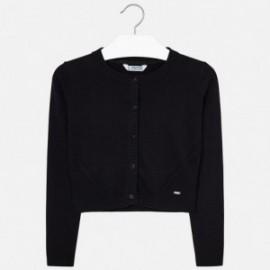 Mayoral 326-74 Sweter dziewczęcy kolor czarny