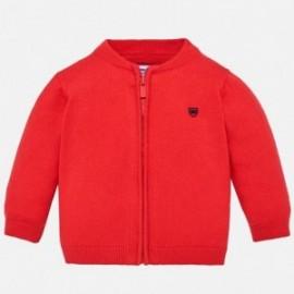 Mayoral 361-16 Sweter chłopięcy kolor czerwony