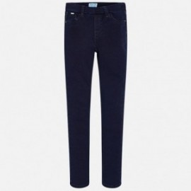 Mayoral 578-51 Spodnie dziewczęce kolor ciemny jeans
