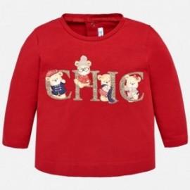 Mayoral 2066-24 Koszulka dziewczęca kolor Czerwony