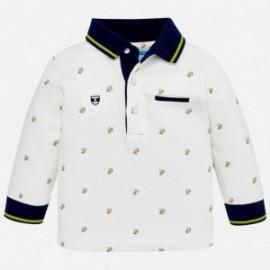 Mayoral 2108-95 Koszulka polo chłopięca kolor śmietanka