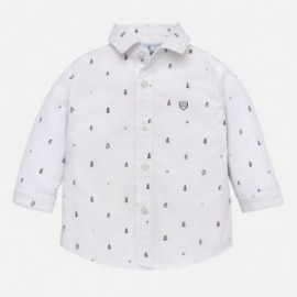 Mayoral 2130-24 Koszula chłopięca wzory kolor biały
