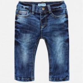 Mayoral 2554-5 Spodnie chłopięce jeans kolor granat