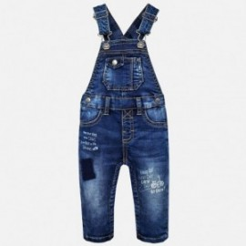 Mayoral 2664-5 Ogrodniczki chłopięce jeans kolor granat