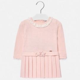 Mayoral 2930-10 Sukienka dla dziewczynki kolor róż