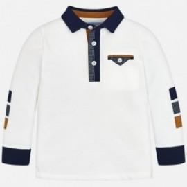Mayoral 4106-63 Koszulka polo chłopięca kolor śmietanka