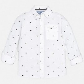 Mayoral 4140-85 Koszula chłopięca kolor biały
