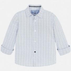 Mayoral 4144-89 Koszula chłopięca kolor niebieski