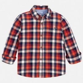 Mayoral 4148-94 Koszula chłopięca kolor czerwony
