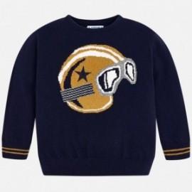 Mayoral 4304-10 Sweter chłopięcy kolor granat