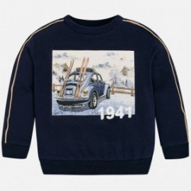Mayoral 4430-73 Bluza chłopięca kolor granat