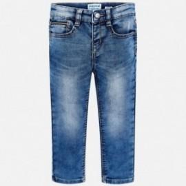 Mayoral 4516-30 Spodnie chłopięce jeans kolor niebieski