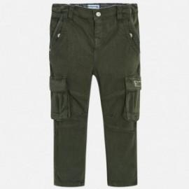 Mayoral 4536-77 Spodnie chłopięce kolor oliwka
