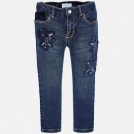 Mayoral 4546-26 Spodnie dziewczęce kolor granat