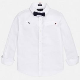 Mayoral 7136-50 Koszula dla chłopca z muszką kolor biały