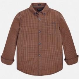 Mayoral 7144-24 Koszula chłopięca kolor bursztyn