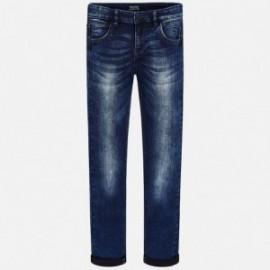 Mayoral 7512-15 Spodnie chłopięce kolor Ciemny jeans