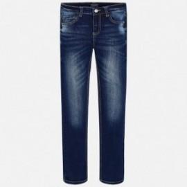 Mayoral 7518-5 Spodnie chłopięce kolor ciemny Jeans
