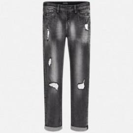 Mayoral 7520-24 Spodnie chłopięce kolor Szary