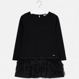 Mayoral 7940-33 Sukienka dziewczęca kolor czarny
