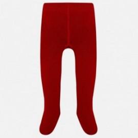 Mayoral 10451-31 Rajstopy dziewczęce kolor czerwony