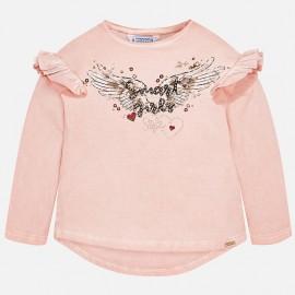 Mayoral 4050-68 Koszulka dziewczęca kolor róż