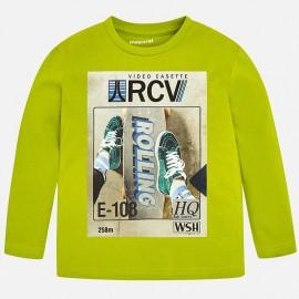Mayoral 4040-47 Koszulka chłopięca kolor zielony