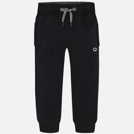 Mayoral 725 25 Spodnie dresowe chłopięce kolor czarny