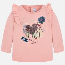 Mayoral 2062-51 Koszulka dziewczęca kolor róż