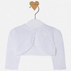 Mayoral 1310-32 Bolerko dziewczęce kolor biały