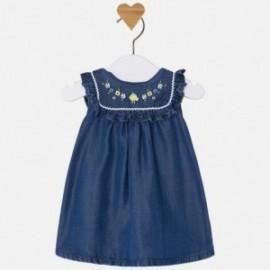 Mayoral 1860-4 Sukienka dziewczęca kolor ciemny jeans