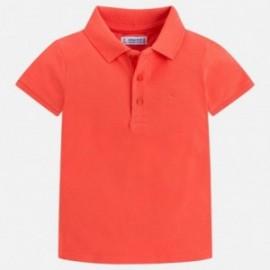Mayoral 150-34 Koszulka polo chłopięca kolor nektar