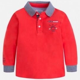 Mayoral 3182-16 Koszulka chłopięca kolor czerwony