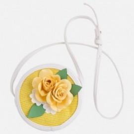Mayoral 10413-69 Torebka dziewczęca kolor biały/żółty