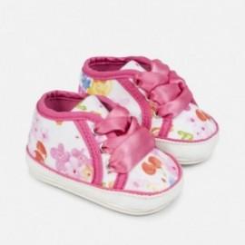 Mayoral 9816-59 Tenisówki niemowlęce dla dziewczynki kolor fuksja