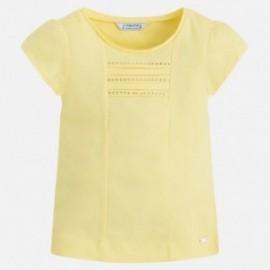 Mayoral 174-62 Koszulka dziewczęca kolor cytryna