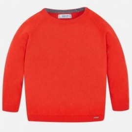 Mayoral 311-44 Sweter chłopięcy kolor nektar