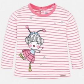 Mayoral 1036-29 Koszulka dziewczęca kolor różowy