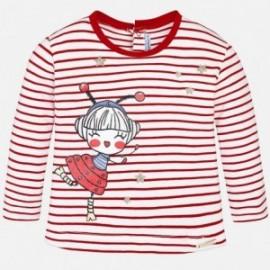 Mayoral 1036-30 Koszulka dziewczęca kolor Czerwony
