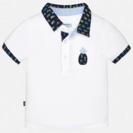 Mayoral 1130-65 Polo chłopięce kolor Biały