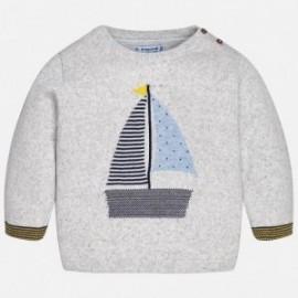 Mayoral 1324-62 Sweter chłopięcy kolor szary