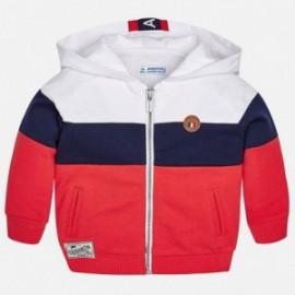Mayoral 1464-66 Bluza chłopięce kolor biały/granat/czerwony
