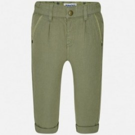 Mayoral 1548-34 Spodnie chłopięce kolor zielony