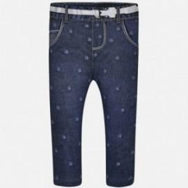 Mayoral 1768-5 Leginsy dziewczęce kolor ciemny jeans