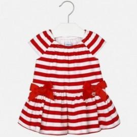 Mayoral 1966-77 Sukienka dziewczęca kolor czerwony