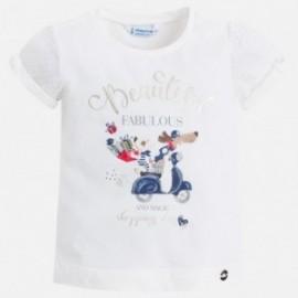 Mayoral 3008-93 Koszulka dziewczęca kolor granatowy