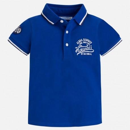 Mayoral 3140-11 Koszulka polo chłopięca kolor niebieski