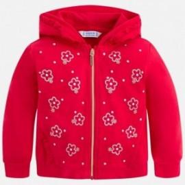 Mayoral 3418-76 Bluza dziewczęca kolor czerwony